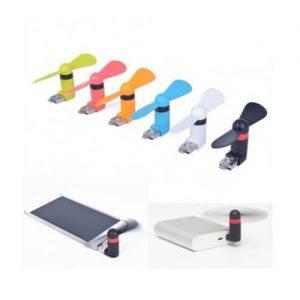 مینی پنکه دومنظوره USB-Micro و USB