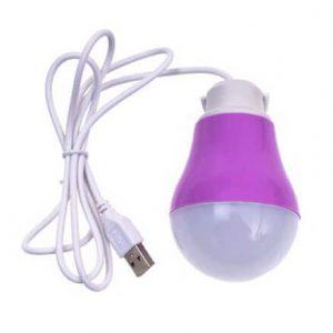 لامپ LED-USB 5W حبابدار