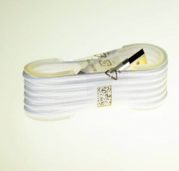 کابل کنفی USB-Micro رنگی یک ونیم متری