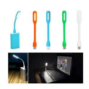 چراغ مطالعه USB پر نور و انعطاف پذیر