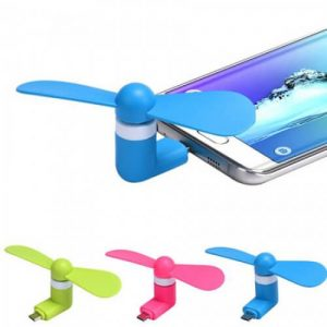 مینی پنکه همراه موبایل Mini USB Fan مخصوص اندروید