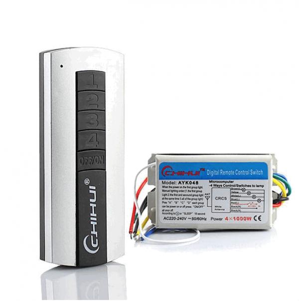 ریموت کنترل وسایل برقی 220 ولت 4 کانال