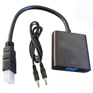 کابل مبدل HDMI به VGA با خروجی صدا مارک Venous