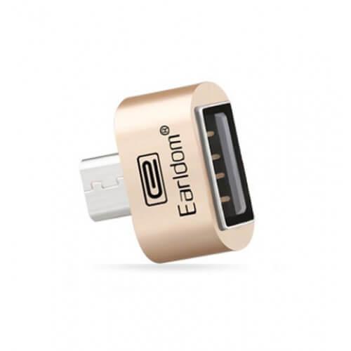 رابط هوشمند فلزی Earldom OTG Micro USB