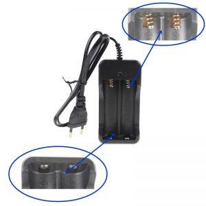 شارژر باتری لیتیوم یون دوبل کابلی