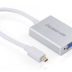 تبدیل Micro HDMI به VGA حرفه ای مدل UGREEN