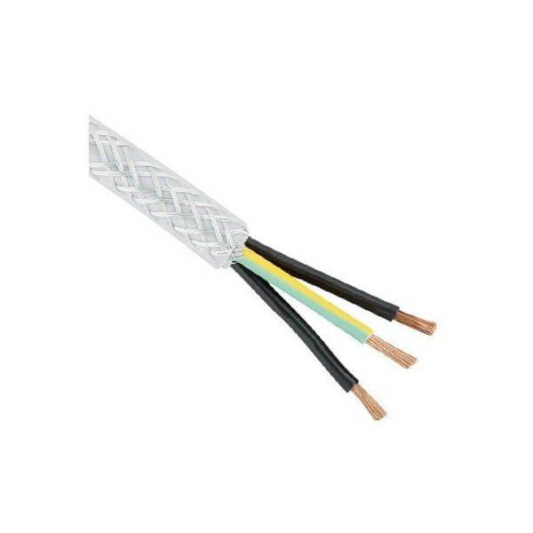 کابل 3 رشته شیلد دار - 5 متری
