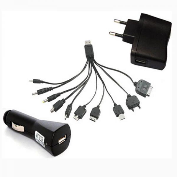 کابل USB شارژر موبایلی همه کاره