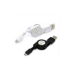 کابل Micro USB جمع شو 75 سانتی متری