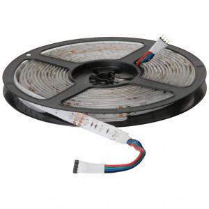 LED نواری RGB ریز 3528 60Pcs رول 5متری