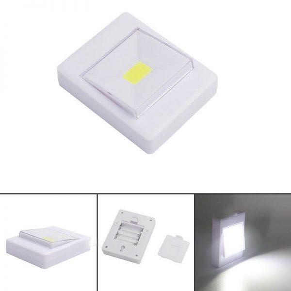 کلید چراغدار COB LED باتری خور اضطراری