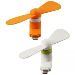 مینی پنکه همراه موبایل Mini USB Fan مخصوص ایفون