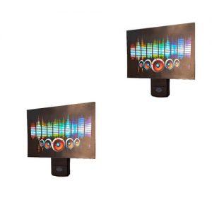 رقص نور LED اکولایزر ضدآب حساس به صدا مدل EK5