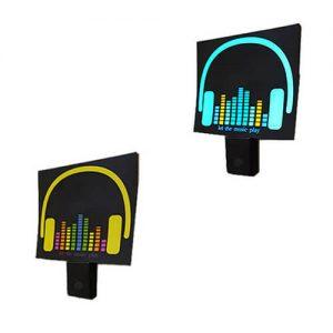 رقص نور LED اکولایزر ضدآب حساس به صدا مدل EK1