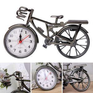 ساعت فانتزی - عقربه ای رومیزی طرح دوچرخه