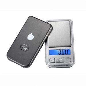 ترازوی دیجیتال 200gr گرمی جیبی مدل MP3 Player