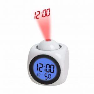 ساعت رومیزی دیجیتال با قابلیت نمایش پروژکتور لیزر روی دیوار