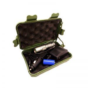 چراغ قوه پلیسی - شکاری کوچک نقره ای 50000W