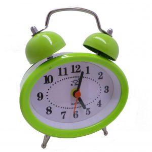 ساعت زنگدار فانتزی بیضی رنگی
