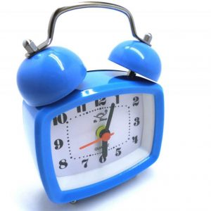 ساعت زنگدار فانتزی مربعی رنگی