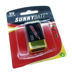 باتری کتابی ۹ ولت SUNNY BATT Super Alkaline
