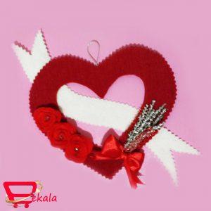 آویز قلب نمدی HA-4