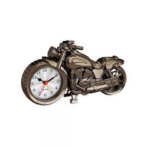 ساعت فانتزی - عقربه ای رومیزی طرح موتورسیکلت