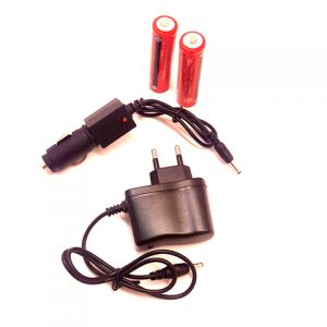 چراغ قوه پیشانی - هدلایت شارژی 3 لامپه COB