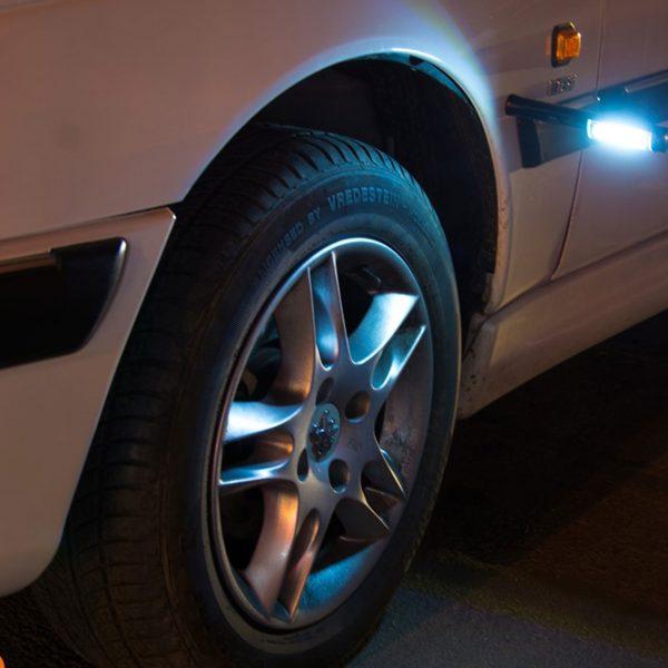 چراغ قوه سه حالته آهنربایی مدل Q5