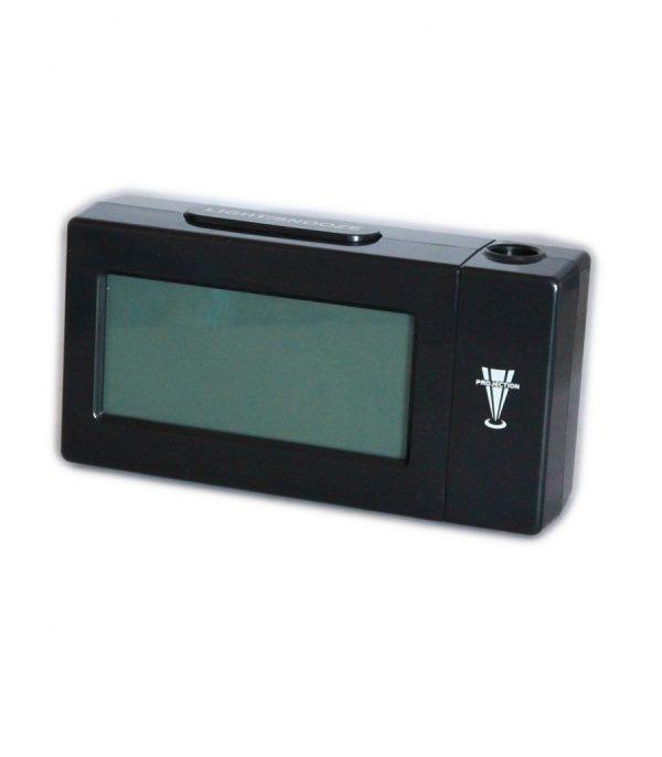 ساعت رومیزی AT-618 رنگ مشکی قابلیت نمایش پروژکتور لیزر