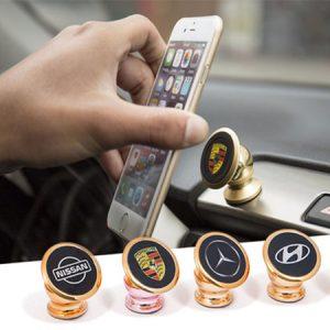 پایه نگهدارنده گوشی موبایل مغناطیسی خودرو مدل KIA