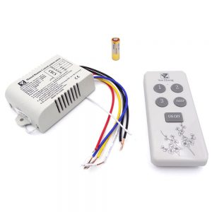 ریموت کنترل وسایل برقی 220 ولت 3 کانال