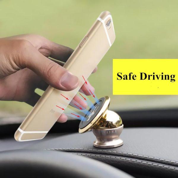 پایه نگهدارنده گوشی موبایل مغناطیسی خودرو