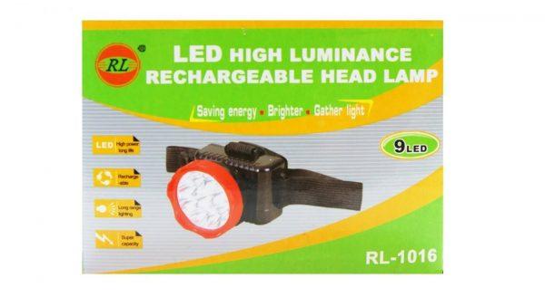 چراغ پیشانی مدل RL-1016