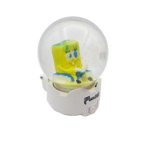 چراغ خواب گوی شیشه ای طرح باب اسفنجی