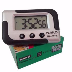 ساعت دیجیتال ماشین و رومیزی NAKO مدل NA-617A