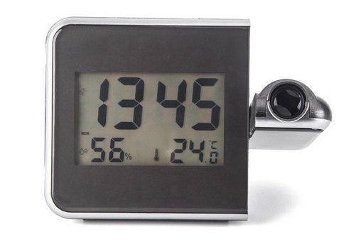 ساعت دماسنج و رطوبت سنج پروژکتوری رومیزی مدل 8190S
