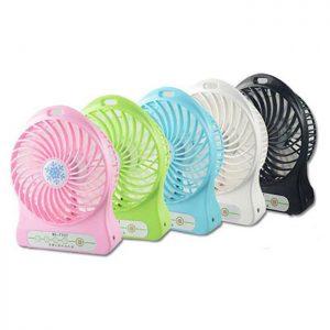 مینی پنکه رومیزی پلاستیکی USB Fan مدل 5017