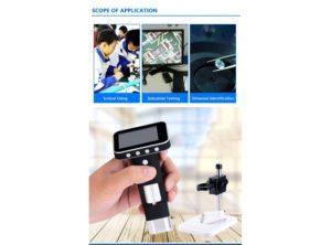 میکروسکوپ دیجیتال 500X HD Digital Microscope نمایشگر 2.5 اینچی مدل HPS001