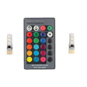 لامپ خودرو multi color مدل T10