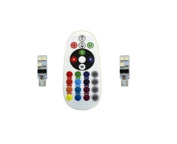 لامپ SMD با قابلیت تغییر رنگ و حالت نوردهی