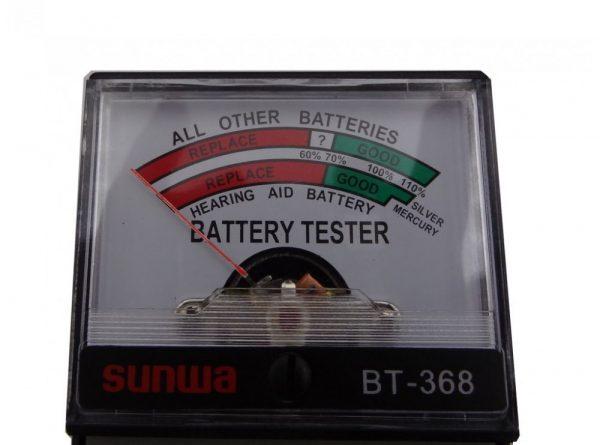 تستر باتری عقربه ای مدل BT-368