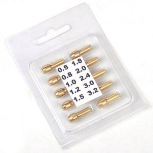 ست کولت سه نظام ده تایی سایز 3.2mm-0.5
