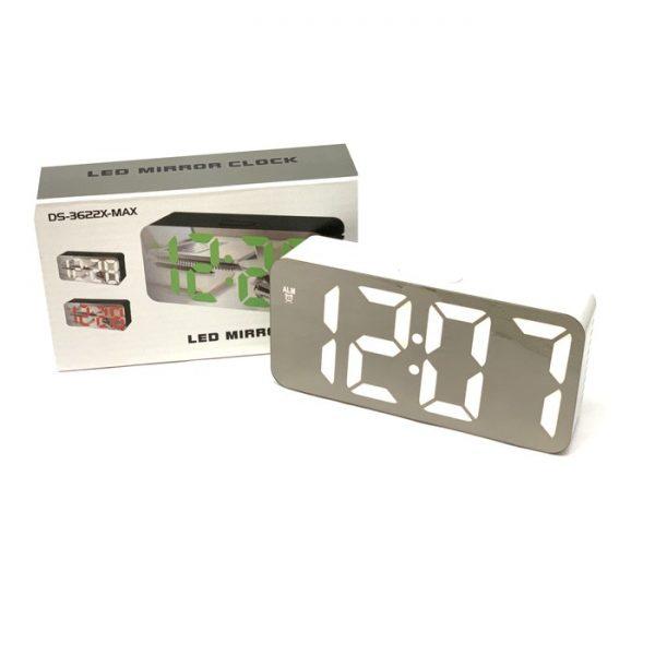 ساعت و دماسنج دیجیتالی رومیزی آینه ای مدلDS-3622X-MAX