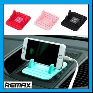 پایه نگهدارنده گوشی موبایل ریمکس آبی زنگاری مدل REMAX Fairy
