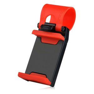پایه نگهدارنده گوشی بر روی فرمان خودرو