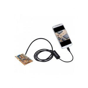 دوربین ( آندوسکوپ ) 1.3 مگاپیکسل لنز 8mm کابل 1 متر ارتباط USB سازگار با ویندوز و اندروید