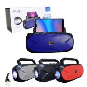 رادیو و اسپیکر بلوتوثی قابل حمل H@F مدل HF-U11