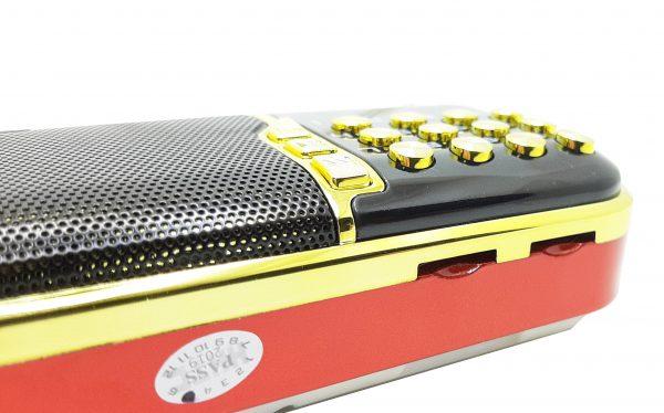 رادیو و اسپیکر بلوتوثی قابل حمل BKK مدل B862