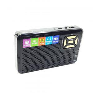 رادیو و اسپیکر بلوتوثی قابل حمل GOLON مدل 992REC